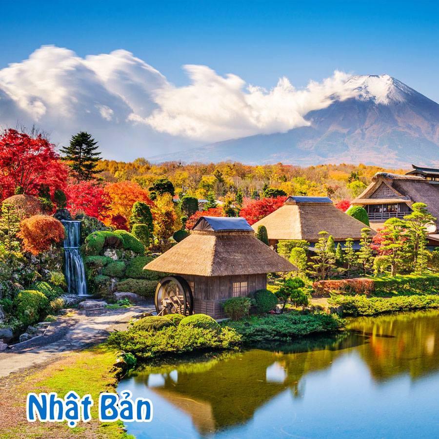 Tour Hn Tokyo - Núi Phú Sĩ - Tokyo 4N3Đ