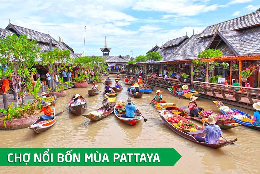 Tour Hồ Chí Minh - Bangkok - Pattaya 5N4Đ