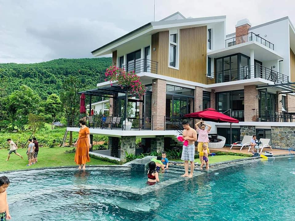 Villa Garden Pool Tam Đảo